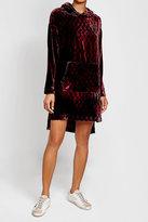 Lala Berlin Velvet Sweatshirt Dress