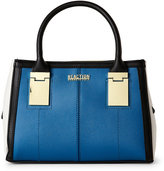 Kenneth Cole Reaction Seaglass & Black Gold Rush Triple Entry Satchel