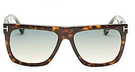 Tom Ford Men's Morgan 57MM Soft Square Sunglasses