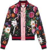 Womens Silk Bomber Jacket - ShopStyle