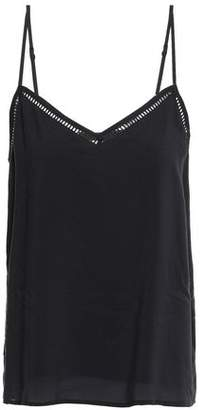 Tart Collections Open Knit-trimmed Modal Camisole