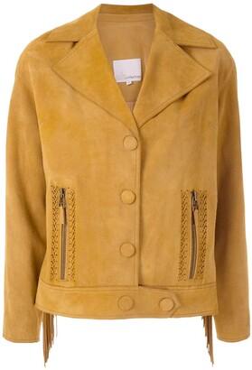 Nk leather Fran jacket