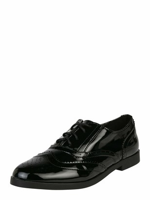 New Look Women's Libby 2 - IC Patent PU Brogue:1:S205 Loafers