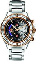 Versace DV One Skeleton Chrono Collection VK8020013 Men's Titanium Automatic Watch
