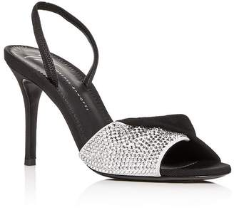 Giuseppe Zanotti Women's Swarovski Crystal Slingback High-Heel Sandals