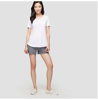Joe Fresh Boyfriend Tee, White (Size L)