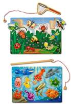 Melissa & Doug Toddler Fish/bug Catch Magnet Games