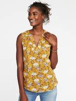 Old Navy Floral-Print Boho Tank for Women