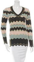 M Missoni Wool Patterned Sweater