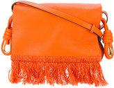 Loewe fringed shoulder bag - women - Leather - One Size