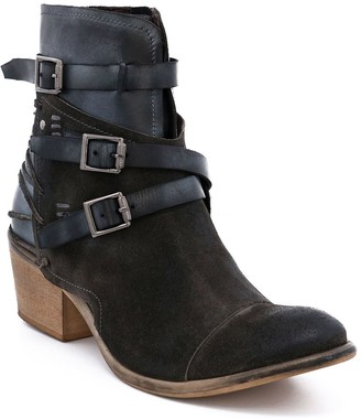 ROAN Leather Buckle Boots - Jag