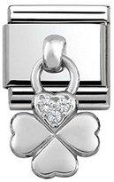 Nomination Women's Charm 925 Silver Zirconia – 331800/02