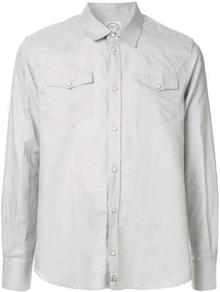 MAISON KITSUNÉ double chest pocket shirt