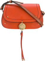 See by Chloe hanging tassel bag - women - Calf Leather - One Size