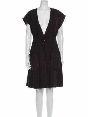 Chanel 2012 Knee-Length Dress Wool