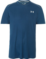 Under Armour Mesh-panelled Coolswitch T-shirt - Navy