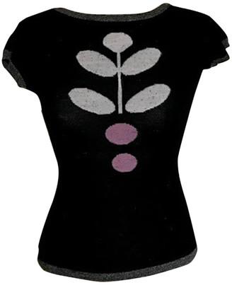 Non Signé / Unsigned Non Signe / Unsigned Kimono Black Wool Knitwear
