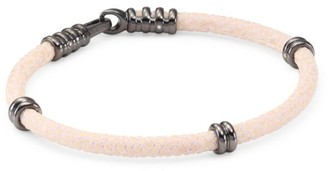 Stinghd Stingray Cord Black Platinum Bracelet