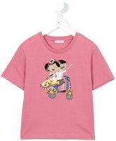 Dolce & Gabbana embroidered T-shirt - kids - Cotton - 4 yrs