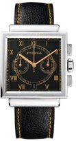 Eterna Men's 1938.41.45.1250 Heritage Black Calfskin Band Watch.