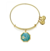 Alex and Ani December Narcissus Flower Bracelet