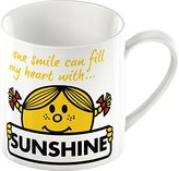 Mr Men & Little Miss Creative Tops Mr. Men Little Miss Sunshine Fine China Mug, Multi-Colour