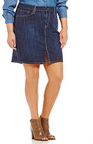 Levi's Plus Icon Denim A-Line Skirt