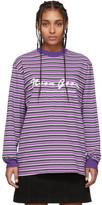 Noon Goons Purple and Black Patricia Long Sleeve T-Shirt