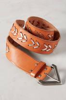 Linea Pelle Woven Arrow Belt