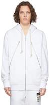 Maison Margiela Off-White Organic Zip Hoodie