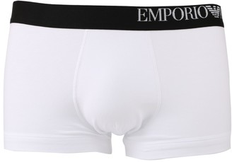 Emporio Armani Three-pack Of Boxer Briefs With Side Logo Waistband