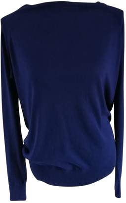 Maje Blue Silk Knitwear for Women