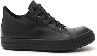 Rick Owens Larry Low Top Sneakers