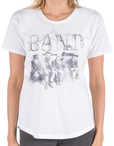 Goodie Two Sleeves White the Band Big House Relic Tee - Women