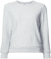 RE/DONE Crewneck Reconstructed Champion Sweater - women - Acrylic/Viscose/cotton - XS/S