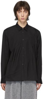 Comme des Garcons Black Spiral Seam Shirt