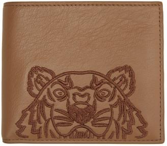Kenzo Brown Kampus Wallet
