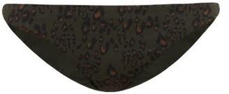 The Upside Moss Army Leopard-print Bikini Briefs - Womens - Leopard