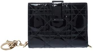 Christian Dior Black Patent leather Wallets