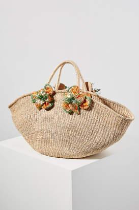Aranaz Lulu Flower Tote Bag
