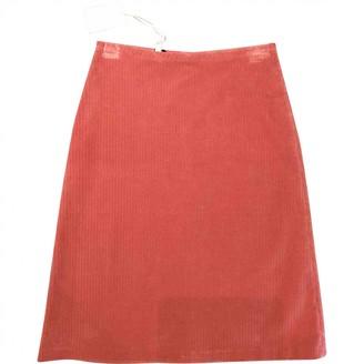 Paul & Joe Pink Cotton Skirt for Women