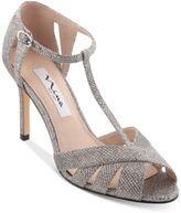 Nina Ricarda T-Strap Evening Sandals