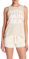 Rip Curl Vitamin Sea Front Graphic Muscle Tank
