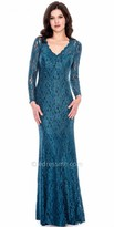 Decode 1.8 Long Sleeve Shimmering Lace Dress