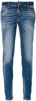 DSQUARED2 medium-waisted Twiggy jeans - women - Cotton/Calf Leather/Polyester/Spandex/Elastane - 38