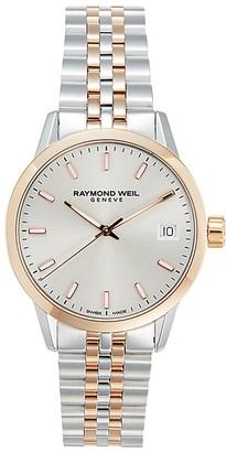 Raymond Weil Two-Tone Stainless Steel Bracelet Watch