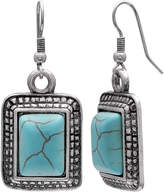 MIXIT Mixit Clr 0717 Lt Blue Drop Earrings