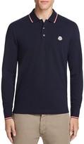 Moncler Long Sleeve Regular Fit Polo Shirt