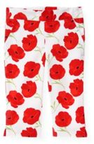 Janie and Jack Poppy Floral Crop Pant