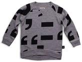 Nununu Infant Boys' Punctuation French Terry Sweatshirt - Sizes 6-24 Months